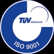 Twentrex is ISO 9001:2015 gecertificeerd