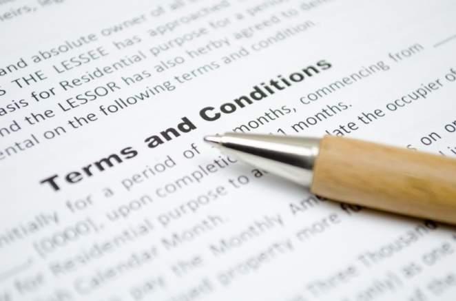 Voorwaarden & condities
